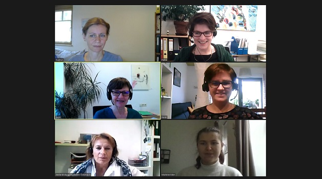 wba-beraterinnen beim online-meeting screenshot
